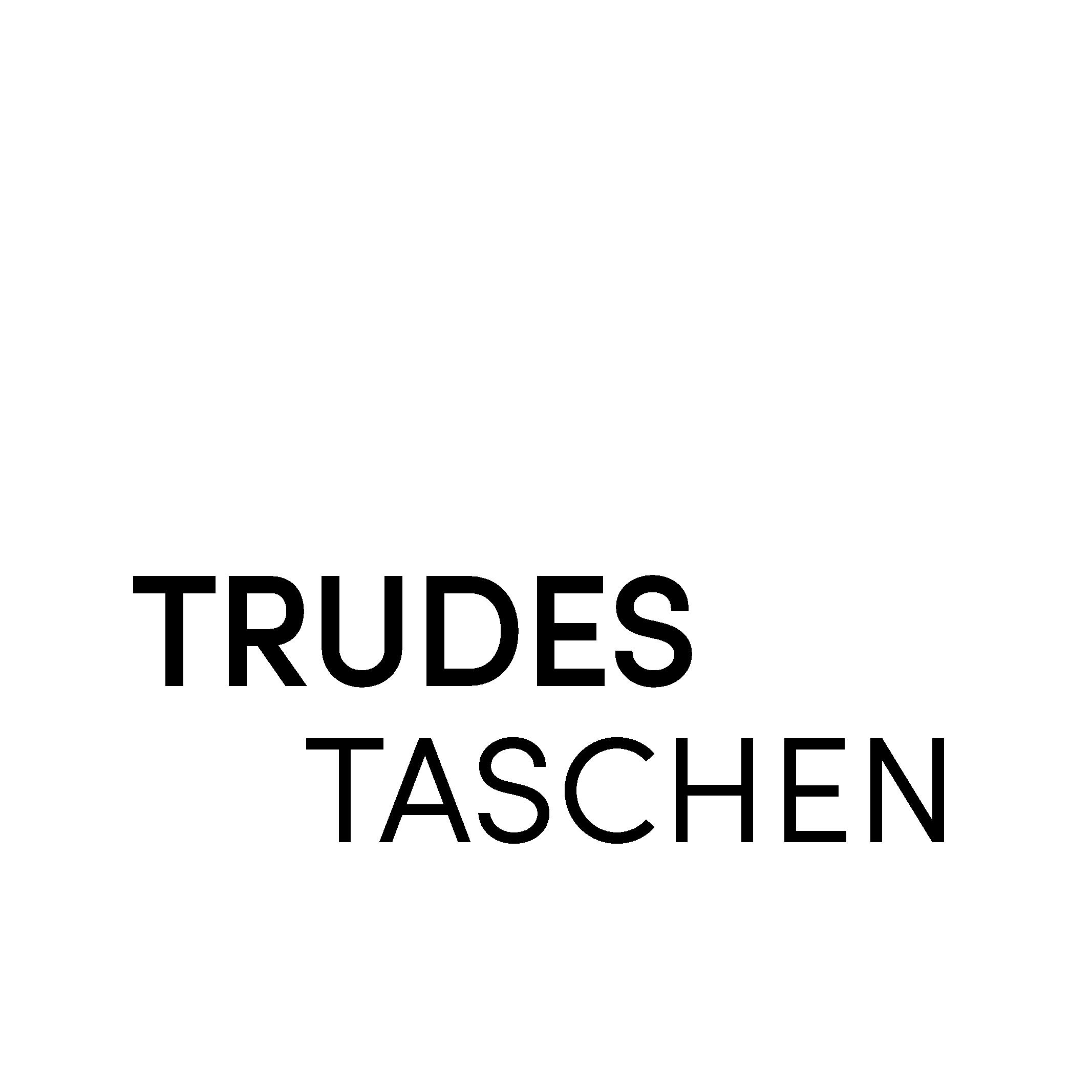 Trudes Taschen Schriftzug Startseite